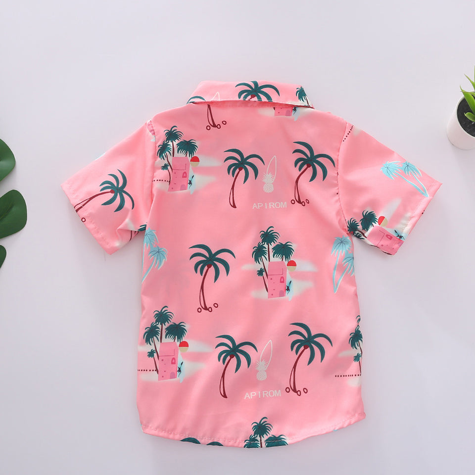 Kids Shirts Boys Summer