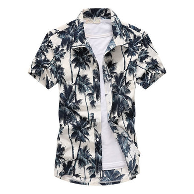 Men Palm Tree Printed Shirt