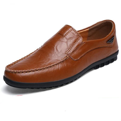 Genuine Leather Luxury Brand Men's Casual Shoes