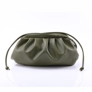 Soft Leather Cloud bag For Women
