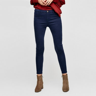 Slim Wrap Stretch Denim Jeans