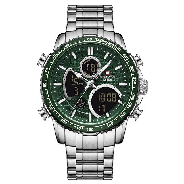 Quartz Wristwatch Date Male