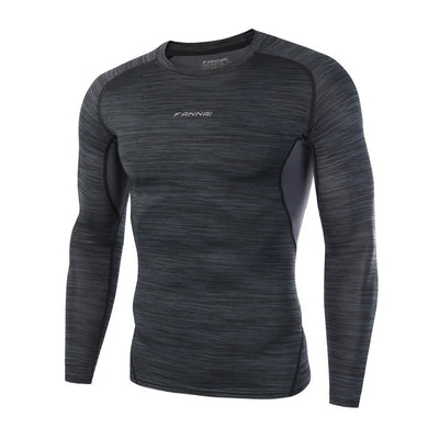 Men Rashgard Fitness Long Sleeves