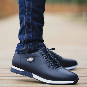 PU Leather Business Casual Shoes for Man