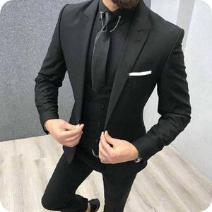 Men  Wedding Tuxedos Slim Fit Suits