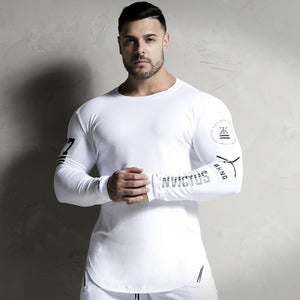 Fitness Compression Skinny Long sleeve t shirt