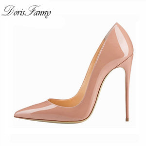 woman pointed toe Pumps Shoes