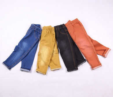 New Style Denim Pants for Kids