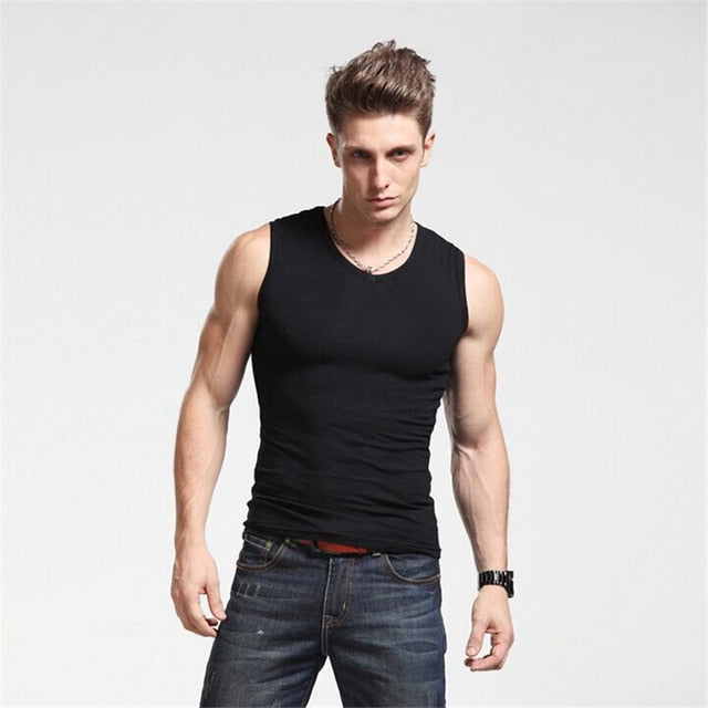 New High Quality Men Tank Top