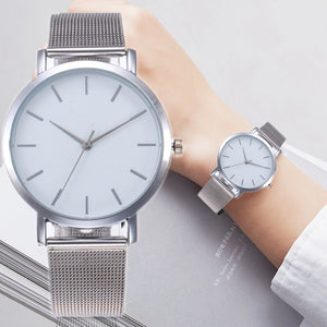 Sliver Mesh Women's Watch