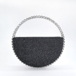 Rhinestone Dinner Clutch Purse
