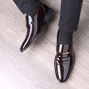 Pointed Men's Leather Shoes