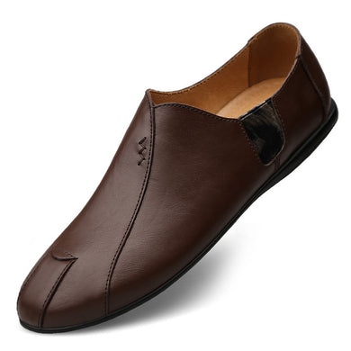 New Design Luxury Brand Genuine Leather Men Loafers