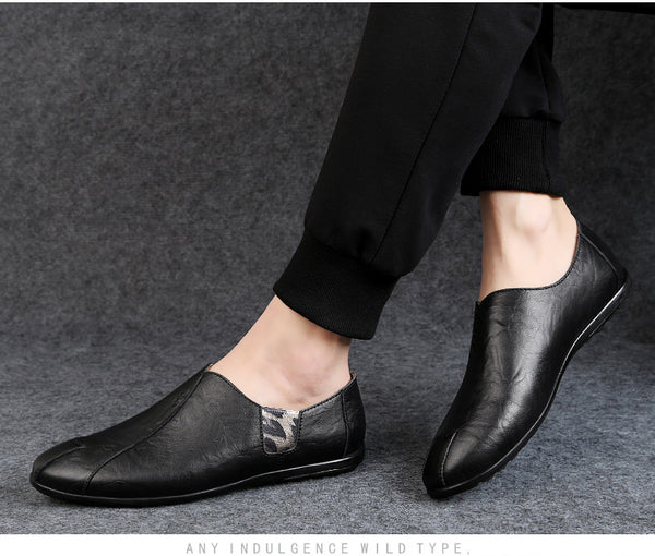 2020 New Design Luxury Brand Genuine Leather Men's Loafers