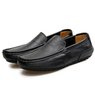 Luxury Brand Genuine Leather Summer Loafers