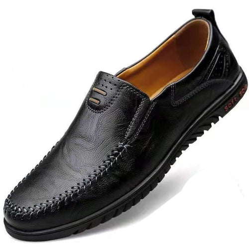 2020 Luxury Brand Genuine Leather Italian Moccasins for Men