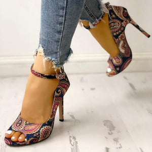 Women High Heels Pumps Sandals