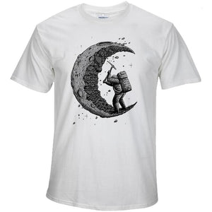The Moon Print Men T-shirts