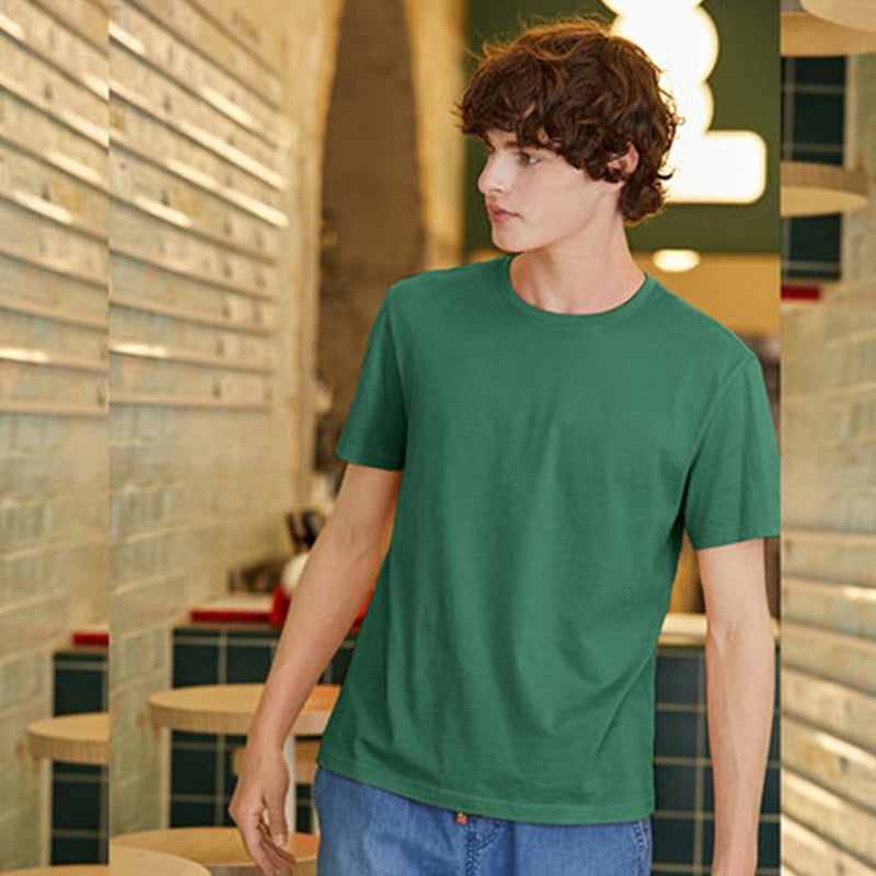 Simple O Neck Summer Short Sleeve T-shirt