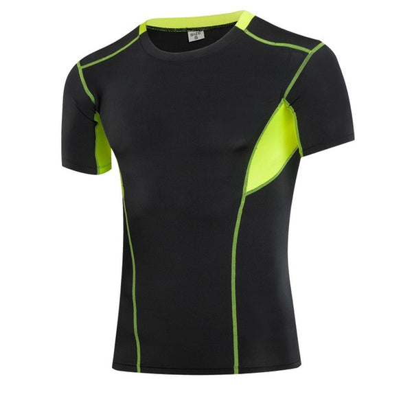 Compression Men T-shirt for Workout