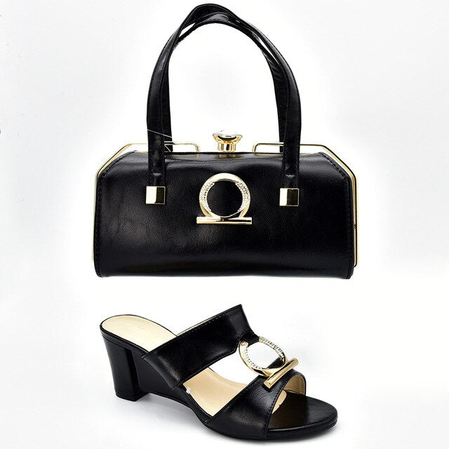 Women's Italian Shoes and Bags  Matching Set