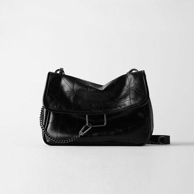 PU Leather Messenger Bag