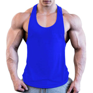 Gym Men Muscle Sleeveless Shirt