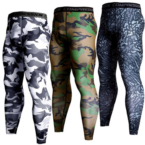 Men Training Fitness Sports Leggings