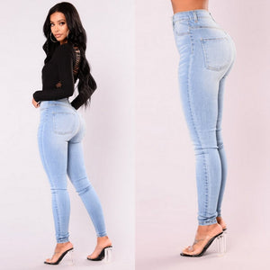 Lady Denim Skinny Pants