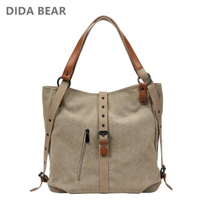 Brand Canvas Tote Bag
