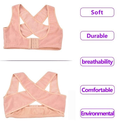 Chest Supports for Women Chest Brace Up Belt Posture Corrector Shape Corrector Prevent Chest Hunchback Sagging Posture Corsetor