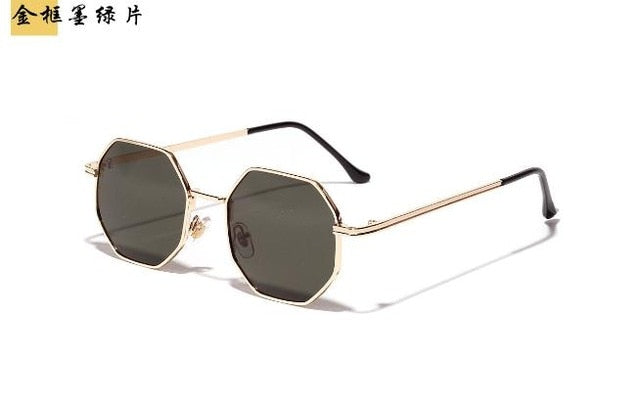Luxury pink Lens Round Sunglasses