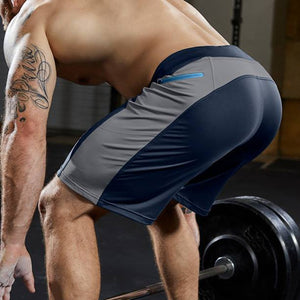 Men Training Fitness Sport Shorts