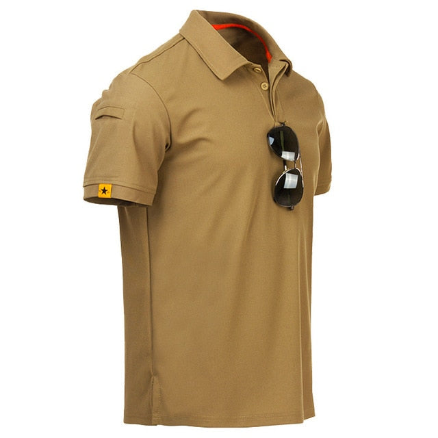 Men's Short Sleeve Polo T Shirts