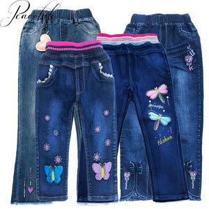 Girls Causal Jeans Denim