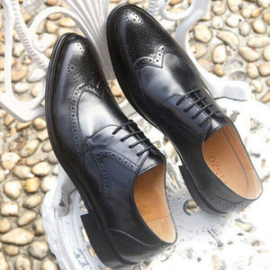 Men Genuine Leather Oxford Shoes