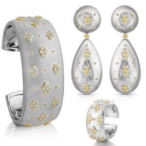 Luxury 3PC Bracelet Ring Earring Sets