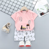 Baby Boys Clothes Suits Fish Style Boys Clothing Sets T- Shirt+Pants Casual Sport Suits Toddler Sets Toddler Boys Clothing Set