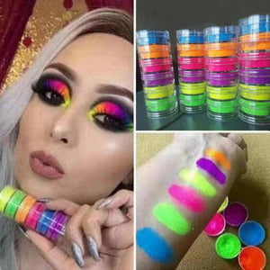 Mixed Neon Eyeshadow