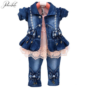 Baby Girl 3 pcs Clothes