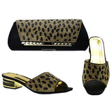 Women Shoes and Bag Set made In Italy