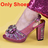 Women Shoe and Bag Matching Set