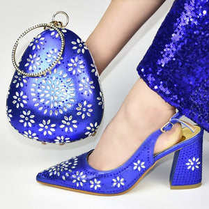 Women Matching Bag & Shoes Set