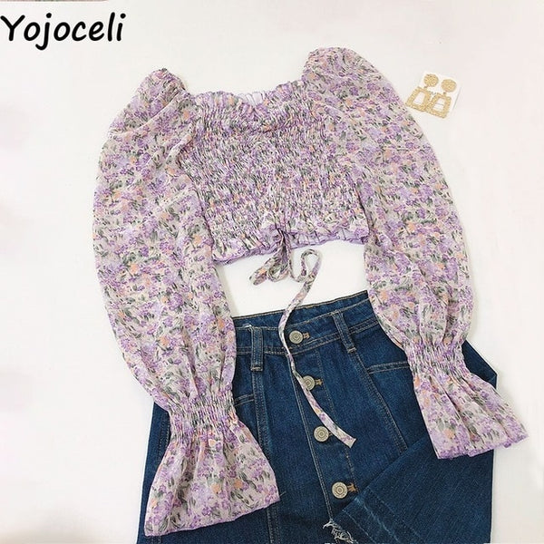 women long sleeve  crop tops