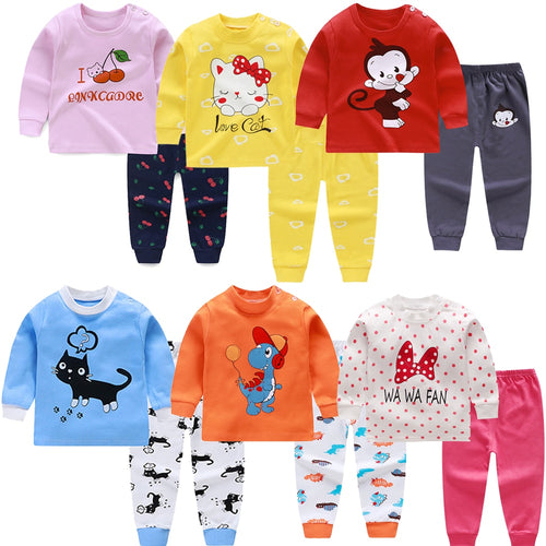 Kids Cotton Pajamas Sets