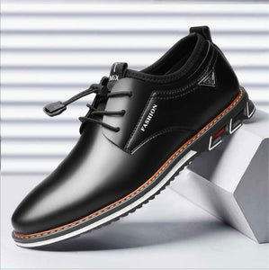 Pointed Toe Casual Leather Shoes
