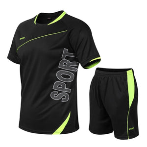 Men's Tracksuit Gym Fitness Sportswear