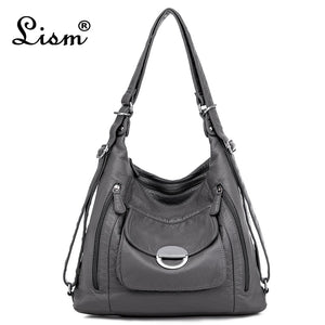 Women Soft PU Leather Handbag