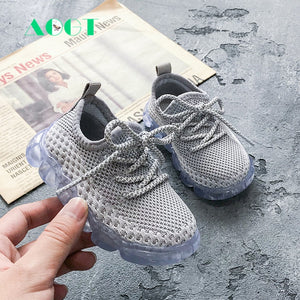 Breathable Knitted Toddler Shoes