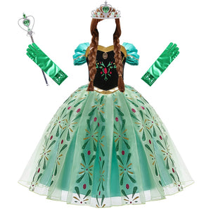 Snow Queen Princess Costume
